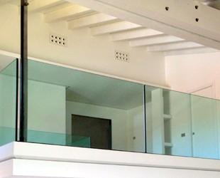 Parapetti interni in vetro (foto)